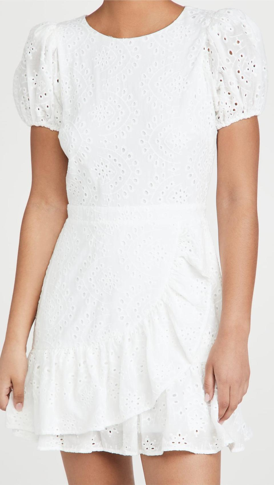 <p>Everyone needs a great white dress for the summer, and we like this <span>Yumi Kim Tonya Dress</span> ($228).</p>