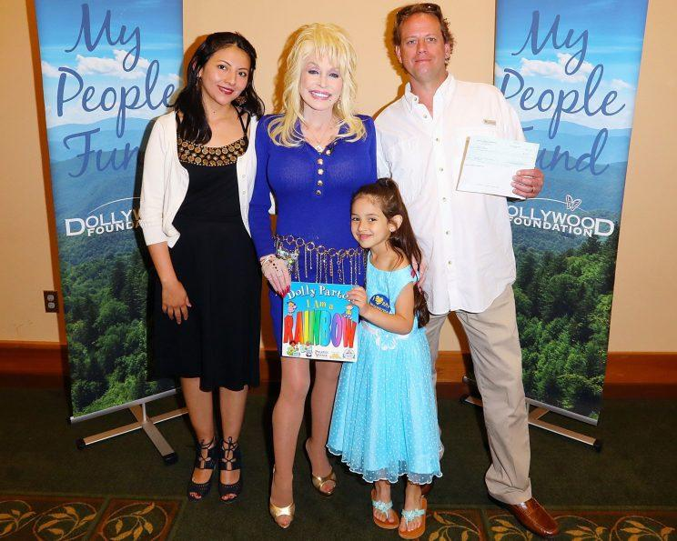 The Dollywood Foundation administered the final distribution from the My People Fund on Thursday with recipients noticing an extra surprise when they received the check.