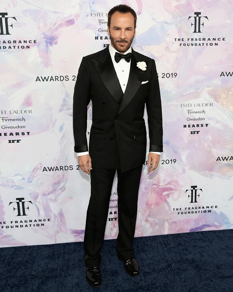 Whenever you need to wear a tux, just ask yourself: What would Tom Ford do?