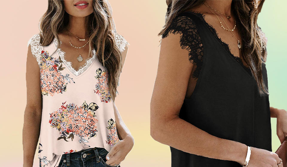 Check out that lace detailing! (Photo: Amazon)