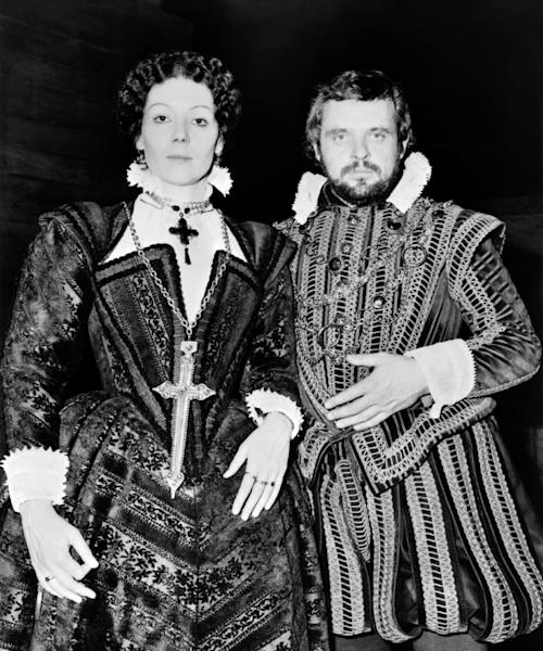 Diana Rigg, pictured with Anthony Hopkins in 1972, was classically trained