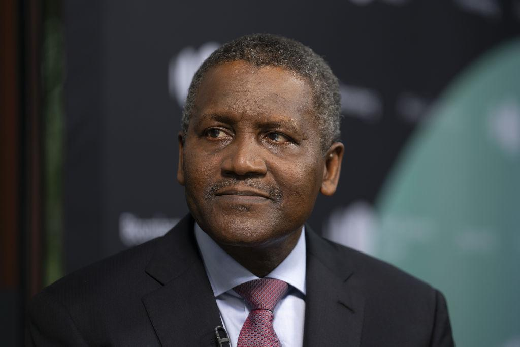 <strong>Estimated net worth of US $8.3 billion </strong>I Alhaji Aliko Dangote GCON (Age 63) is a Nigerian businessman, philanthropist and founder chairman of Dangote Group, an industrial conglomerate in Africa. He is the 162nd wealthiest person in the world and the richest person in Africa.
