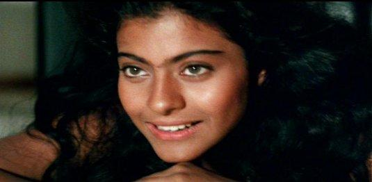<p>And here's another close up from Baazigar. If I could afford a time machine, I'd travel back in time just so I could fire the make up artist's good behind. Still so much work needs to be done. </p>