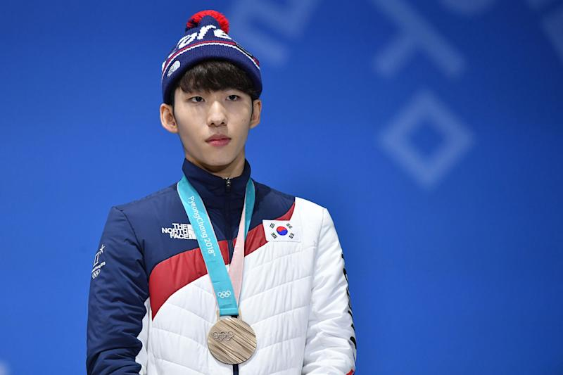 Lim Hyo-jun has been suspended one year from a sport that's been rocked by sex abuse scandal. (Getty)