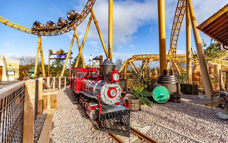 Tornado Springs is the latest addition to Paultons Park in Hampshire, with new rides and experiences in a Western theme