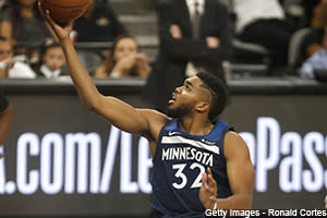 It was a light eight-game Wednesday night, but Joel Embiid and Lonzo Ball went down, and Karl-Anthony Towns went nuts with 56 points