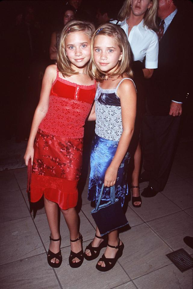 <p>The twins looked super cute in matching tank dresses while attending ABC's fall kick off party at the Hammer Museum in California.</p>