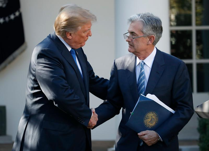Trump and Fed chairman Powell discuss economy over dinner | AP business
