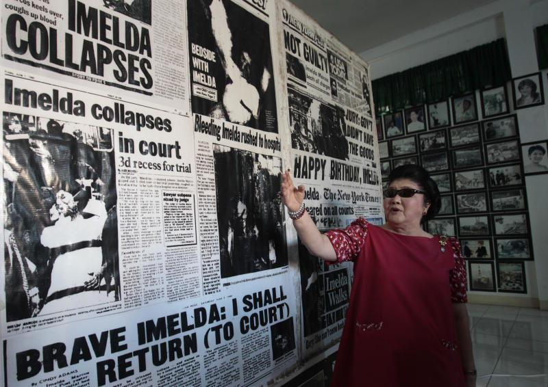Seeking re-election, Imelda extends Marcos dynasty