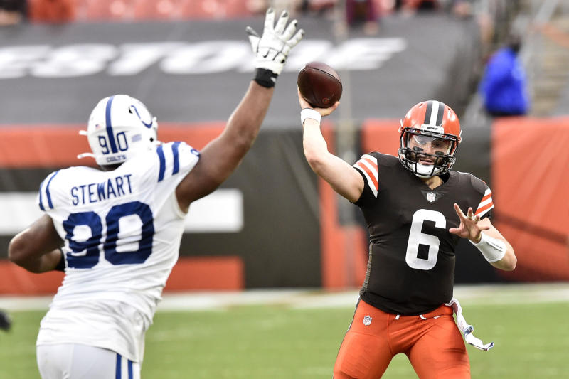 Colts Browns Football