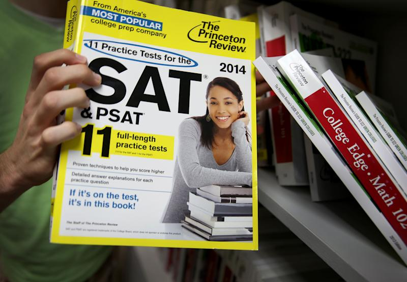 SAT testing company to add 'disadvantage' score to some students' exams