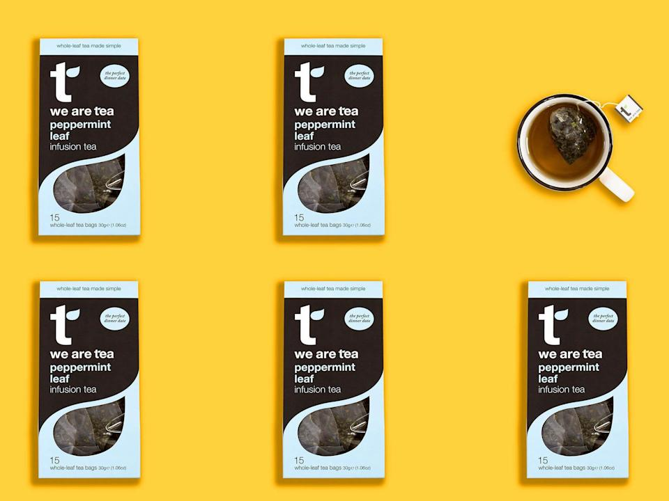 An estimated 96 per cent of teabags have plastic in them, so don't throw those in your home compost heap (We Are Tea)