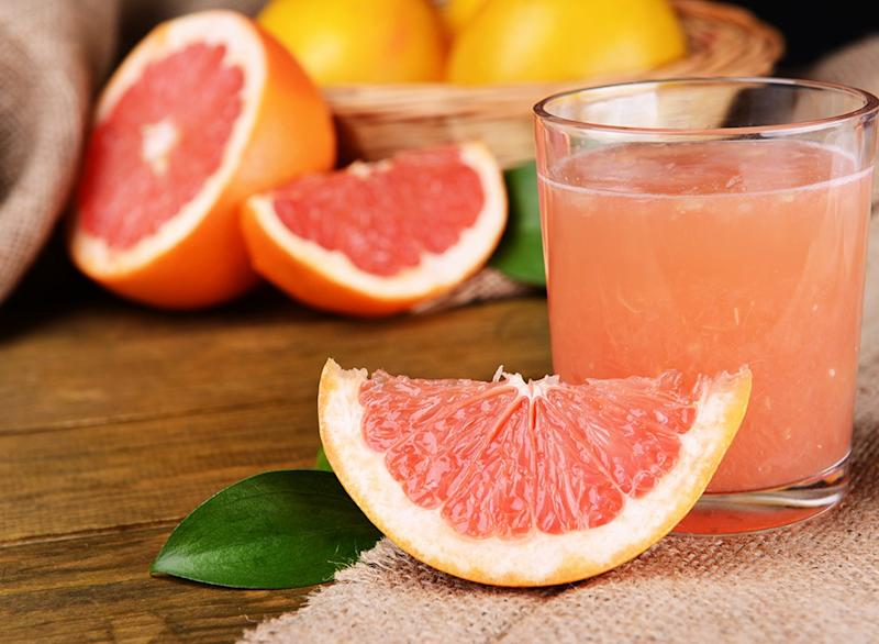 Four Great Drink Recipes For a Quick Weight Loss, Grapefruit and apple cider vinegar