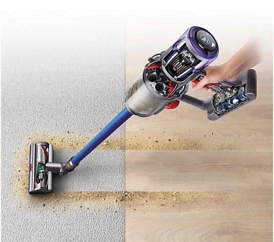 Who hasn't had someone spill a bucket of masonry sand in their living room? The Dyson will make it all better. (Photo: QVC)
