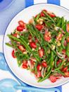 """<p>This green bean salad contains rice vinegar, soy sauce, honey, and hot sauce for an explosion of flavor.</p><p><em><strong><a href=""""https://www.womansday.com/food-recipes/food-drinks/recipes/a50976/green-bean-salad/"""" rel=""""nofollow noopener"""" target=""""_blank"""" data-ylk=""""slk:Get the Green Bean Salad recipe."""" class=""""link rapid-noclick-resp"""">Get the Green Bean Salad recipe.</a></strong></em></p>"""