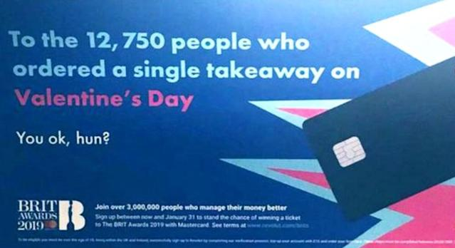 """Finance writer Iona Bain called out the """"single-shaming"""" Revolut ad. (Photo: Twitter)"""