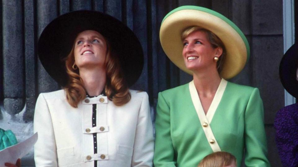 Princess Diana and Sarah Ferguson were known for their scene-stealing friendship during the 1980s. Photo: Getty