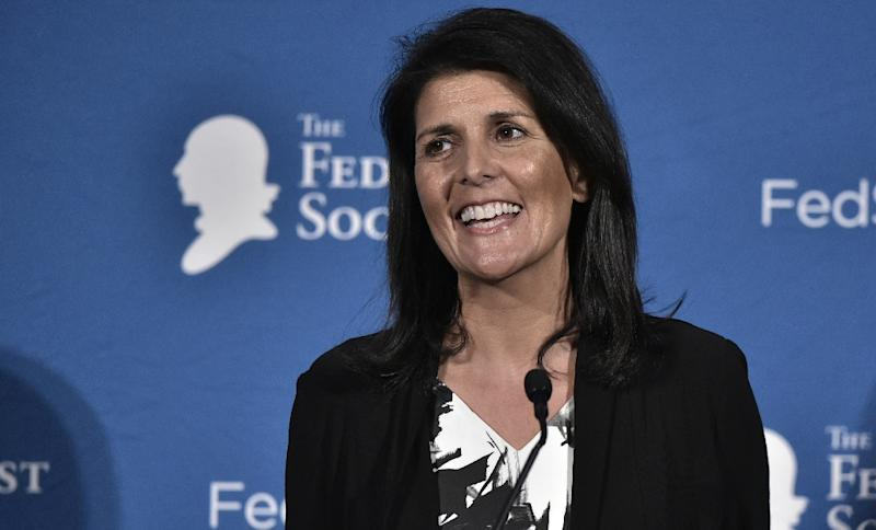 Nikki Haley is Trump's pick for United States ambassador to UN