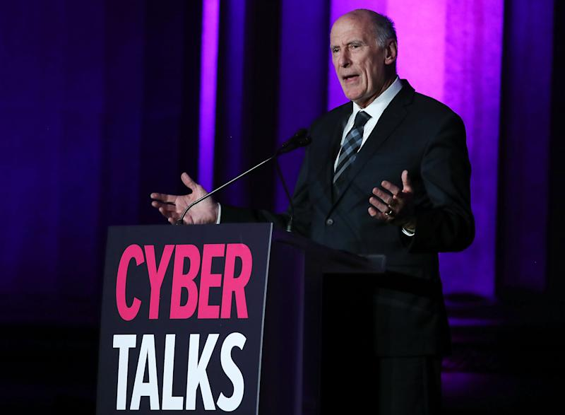 Director of National Intelligence, Dan Coats speaks during the CyberScoop 2018 CyberTalks conference at the Mellon Auditorium, on October 18, 2018 in Washington, DC. (Photo: Mark Wilson/Getty Images)
