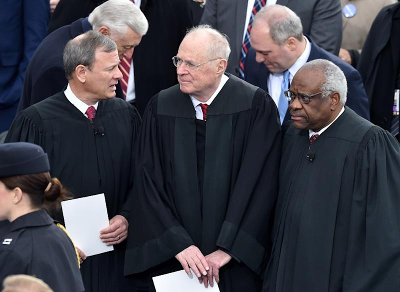 Image result for Trump gets historic chance to shift Supreme Court to right