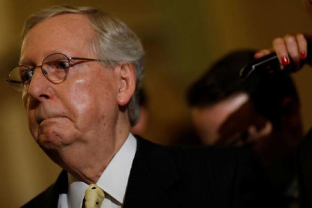 Mitch McConnell: 'The man in the middle' of U.S. healthcare war