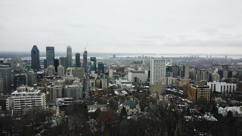 montreal weather cloudy with a chance of snow