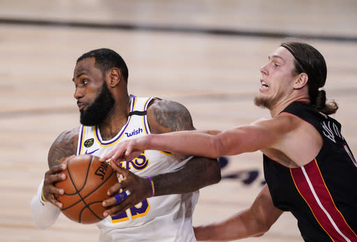 As always, Miami's Olynyk ready for anything in NBA Finals