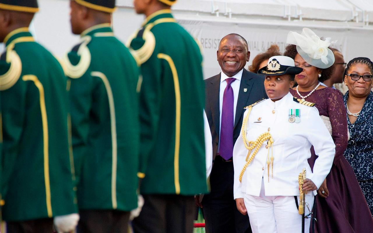 "President Cyril Ramaphosa of South Africa declared a new era of hope for the country as he used his second day in office to deliver the State of the Nation address, pledging to tackle corruption, unemployment and inequality. ""We should put all the negativity behind us because a new dawn is upon us,"" Mr Ramaphosa said, a day after replacing Jacob Zuma, who resigned under a cloud of corruption allegations. ""There is a greater sense of optimism among many of our people. Our people are hopeful about the future, and one sees it as it goes around,"" he added. Mr Ramaphosa, 65, was sworn in after Mr Zuma resigned under pressure from the ruling African National Congress party on Wednesday amid mounting accusations of fraud, bribery and corruption. Mr Ramaphosa promised to crack down on the nation's troubled state-owned enterprises by ensuring that they do not drain the nation's coffers and are run by qualified boards.  Mr Ramaphosa delivers his address at the Parliament in Cape Town Credit: AFP ""This is the year in which we will turn the tide of corruption in our public institutions,"" he said, and added that ""we must fight corruption, fraud and collusion in the private sector with the same purpose and intensity"". Mr Zuma was originally scheduled to give the speech earlier this month, but it was postponed as the ANC came under pressure to recall him. After Mr Zuma stepped down, the ruling party scrambled to get Mr Ramaphosa inaugurated quickly so the world could see that the nation's government was returning to business after weeks in limbo. Many South Africans are relieved to see Mr Ramaphosa, a successful businessman and veteran of the anti-apartheid struggle, at the helm. In his speech, he did not sugarcoat the nation's problems, citing rising poverty levels, worsening unemployment and deep inequities more than 20 years after the end of apartheid. ""We remain a highly unequal society in which poverty and prosperity are still defined by race as well as by gender,"" he said. ""For several years our economy has not grown at the pace needed to create enough jobs or lift our people out of poverty."" Profile 