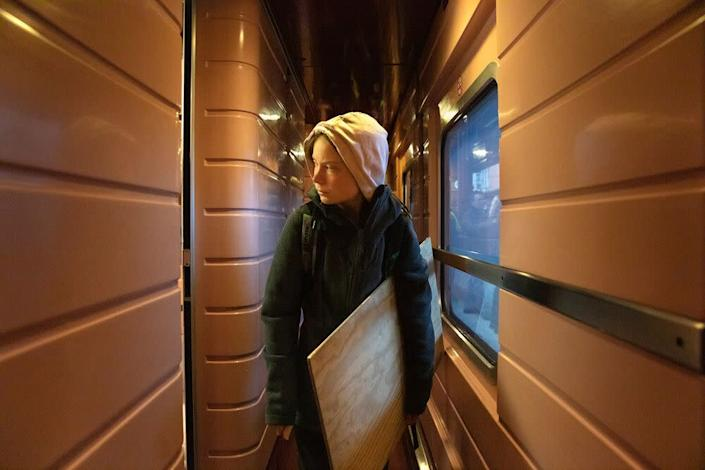Thunberg arrives in Madrid for the last U.N. climate summit before a crucial deadline in 2020 | Evgenia Arbugaeva for TIME