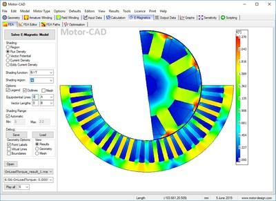ANSYS Motor-CAD delivers integrated multiphysics design for electric machines.