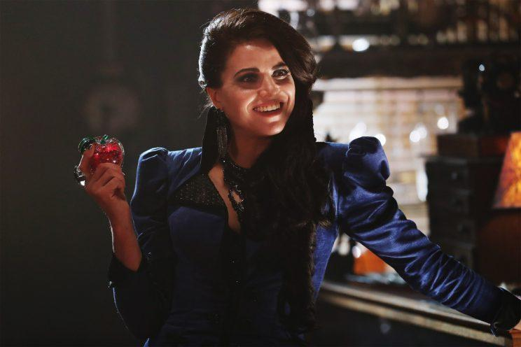 Lana Parrilla as the Evil Queen in 'Once Upon a Time' (Credit: ABC/Jack Rowand)