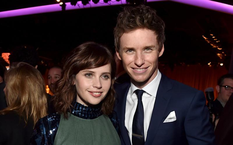 Eddie Redmayne and Felicity Jones are reuniting for The Aeronauts, which has been bought by Amazon - Kevin Winter