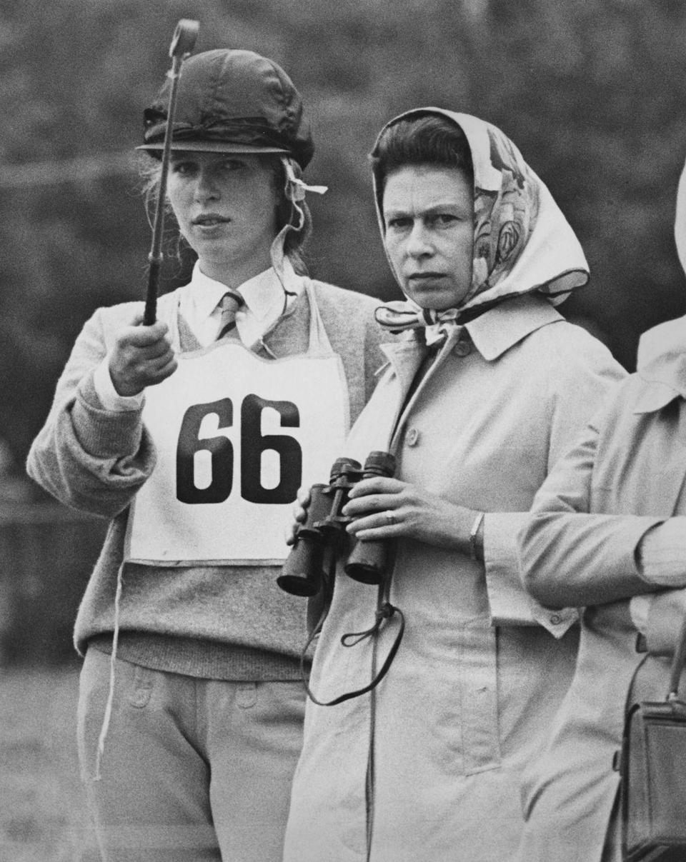 <p>Alongside Queen Elizabeth during the Eridge Horse Trials in East Sussex.</p>