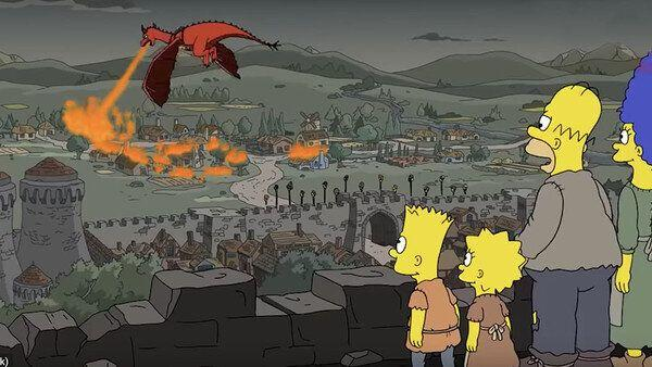 The Simpsons predicted Game of Thrones' twist in 'Bart to the Future' in 2017