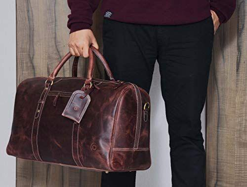 """<p><strong>AARON LEATHER GOODS VENDIMIA ESTILO</strong></p><p>amazon.com</p><p><strong>$139.99</strong></p><p><a href=""""https://www.amazon.com/dp/B07HF2JZ34?tag=syn-yahoo-20&ascsubtag=%5Bartid%7C2164.g.32388887%5Bsrc%7Cyahoo-us"""" rel=""""nofollow noopener"""" target=""""_blank"""" data-ylk=""""slk:BUY NOW"""" class=""""link rapid-noclick-resp"""">BUY NOW</a></p><p>If a cowboy or cowgirl were to go away for a weekend, this seems like the bag they'd pack! The rustic leather will only get better looking with more wear.</p>"""