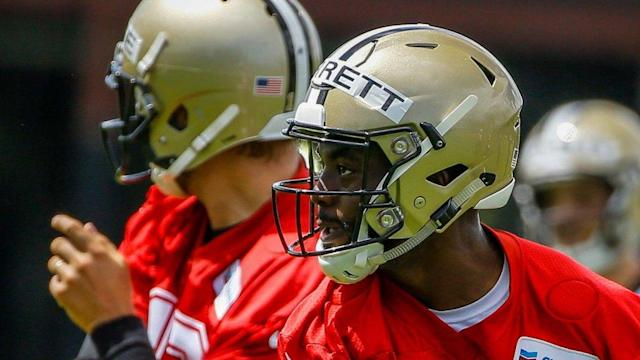 J.T. Barrett re-signs with the Saints practice squad yet again