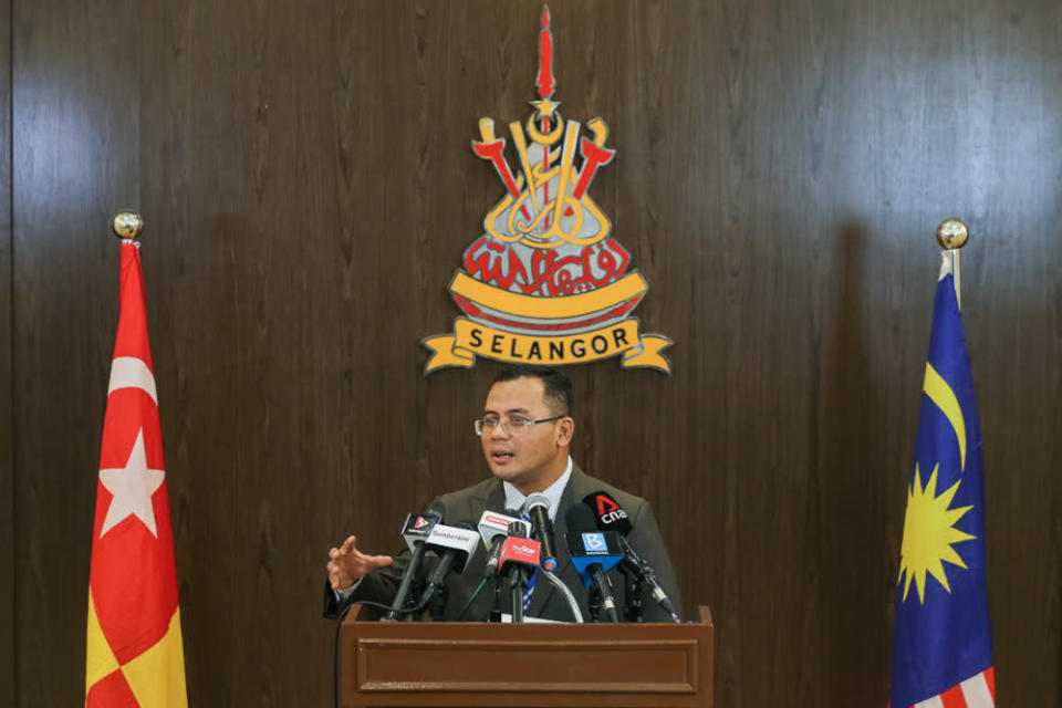 Selangor Mentri Besar Datuk Seri Amirudin Shari also said the Rulers' decision was in line with the desire of Malaysians. — Picture by Yusof Mat Isa