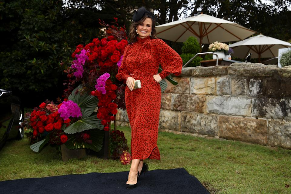 SYDNEY, AUSTRALIA - OCTOBER 27: Lisa Wilkinson attends the 2020 Melbourne Cup Carnival Sydney Launch on October 27, 2020 in Sydney, Australia. (Photo by Don Arnold/WireImage)