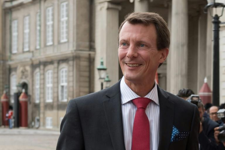 "Prince Joachim, pictured at  Amalienborg Castle in Copenhagen in 2018, is ""stable"" following Friday's surgery, the palace said"