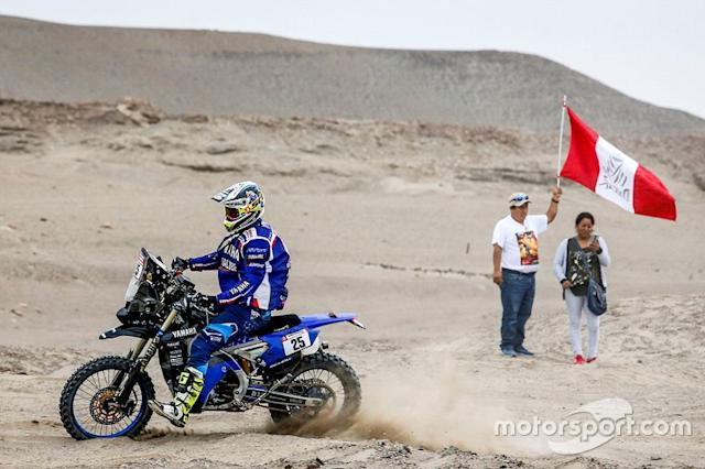 "#18 Yamalube Yamaha Official Rally Team: Rodney Faggotter <span class=""copyright"">Yamaha Official Rally Team</span>"