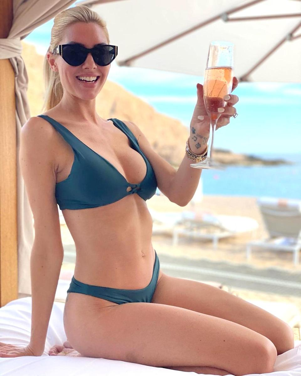 """<p><strong>Location:</strong> Los Cabos, Mexico</p> <p><em>Sellin Sunset</em> star Heather Rae Young and her fiancé <em>Flip or Flop'</em>s Tarek El Moussa headed down to Los Cabos to <a href=""""https://www.instagram.com/p/CJHdZMWJURb/"""" rel=""""nofollow noopener"""" target=""""_blank"""" data-ylk=""""slk:celebrate their engagement"""" class=""""link rapid-noclick-resp"""">celebrate their engagement</a> with champagne, sun and sand. They stayed at the Montage Los Cabos, one of the luxury resort chain's multiple properties in North America. </p>"""