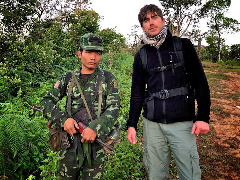 The one where…he joins a rebel army in BurmaBBC
