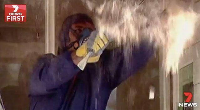 Most houses built before 2004 will have some form of asbestos. Source: 7 News