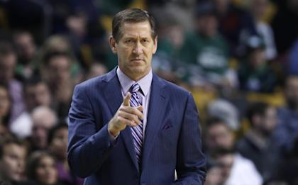 Jeff Hornacek was second in NBA Coach of the Year voting in his first season in 2013-14. (AP)