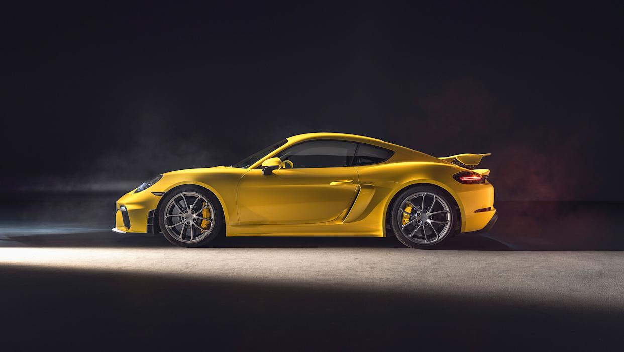 The GT4 generates significant downforce