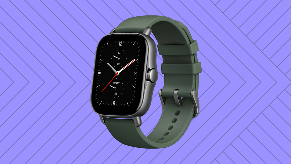 Only $120 for the Amazfit GTS 2e Smartwatch?! (Photo: QVC)