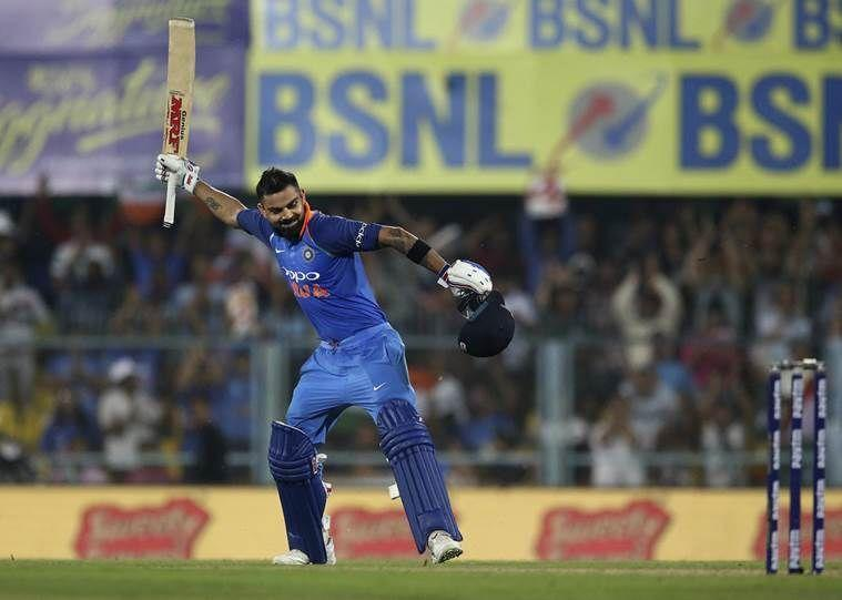 No batsman has scored more runs than Kohli in ODIs in 2018