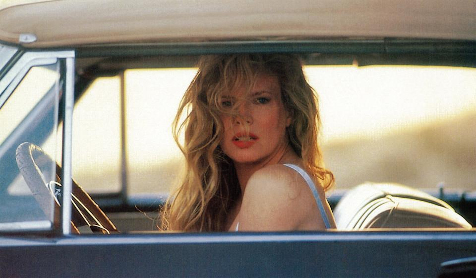 Basinger's alleged bad behavior on the set of 'The Marrying Man' included causing extensive delays and requiring the use of an umbrella-holder (Photo: Buena Vista/courtesy Everett Collection)