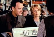 """<p>As far as rom-coms go, <strong>You've Got Mail</strong> is one of the greats. <a class=""""link rapid-noclick-resp"""" href=""""https://www.popsugar.co.uk/Tom-Hanks"""" rel=""""nofollow noopener"""" target=""""_blank"""" data-ylk=""""slk:Tom Hanks"""">Tom Hanks</a> and <a class=""""link rapid-noclick-resp"""" href=""""https://www.popsugar.co.uk/Meg-Ryan"""" rel=""""nofollow noopener"""" target=""""_blank"""" data-ylk=""""slk:Meg Ryan"""">Meg Ryan</a> play star-crossed lovers who run rival bookstores. Books, sweaters, and a classic soundtrack give this movie the coziest fall vibes around. </p> <p><a href=""""https://www.amazon.com/Youve-Got-Mail-Tom-Hanks/dp/B001N3LLH4/ref=sr_1_2?dchild=1&amp;keywords=you%27ve+got+mail&amp;qid=1632275666&amp;s=instant-video&amp;sr=1-2"""" class=""""link rapid-noclick-resp"""" rel=""""nofollow noopener"""" target=""""_blank"""" data-ylk=""""slk:Watch You've Got Mail on Amazon Prime Video"""">Watch <strong>You've Got Mail</strong> on Amazon Prime Video</a>.</p>"""
