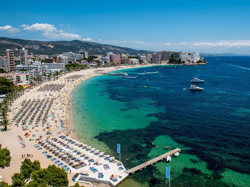 Magaluf is one of the Britain's favorite holiday destinations: David Ramos/Getty Images